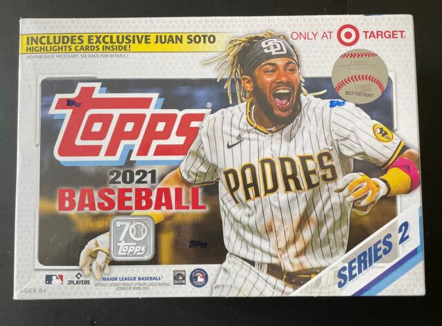 2021 Topps Series 2 Baseball Mega Box, Factory Sealed