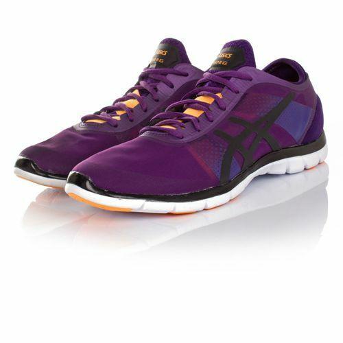 Asics Gel-Fit Nova Purple   Onyx   Nectarine Training shoes
