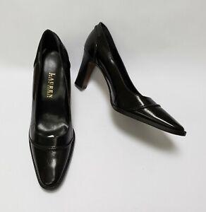 Lauren Ralph Lauren Shoes Black Heels