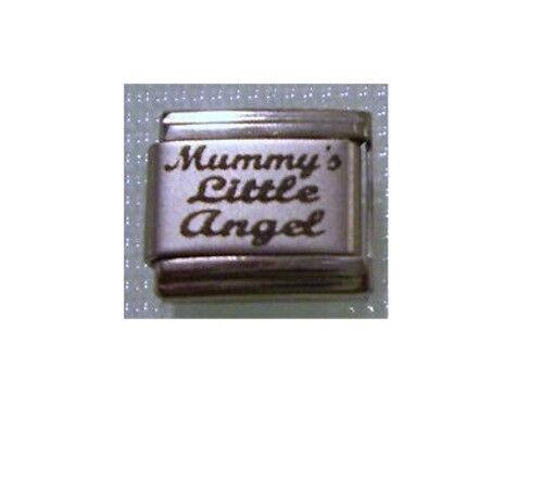 9mm Italian Charms L53 Mummy/'s Little Angel Fits Classic Size Bracelet