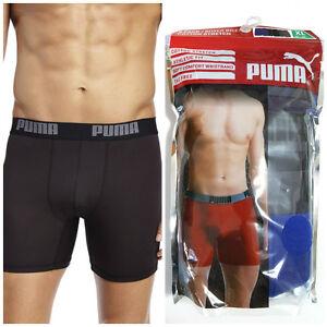 Competitivo piel pedir  3 x PUMA Men's Cotton Boxers Briefs Short Underwear Sport Sz S M L XL New |  eBay