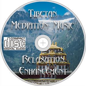 Details about TIBETAN MEDITATION MUSIC CD healing stress relax meditation  body mind soul