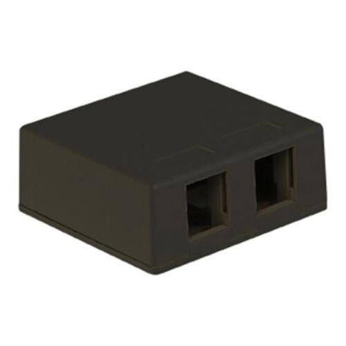 Icc Surface-2Bk Ic107Sb2Bk Surface Box 2Pt Black