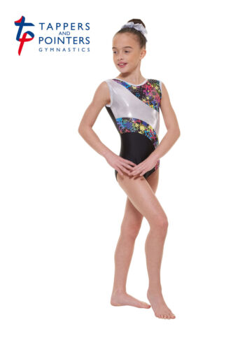 Tappers et pointers gymnastique justaucorps plus assorti hairscrunchie noir gym 39