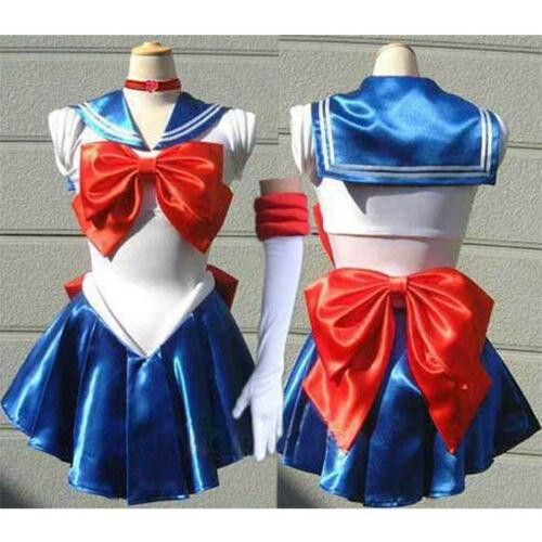 Sailor Moon Sailormoon Uniform Costume Cosplay Dress Anime Manga