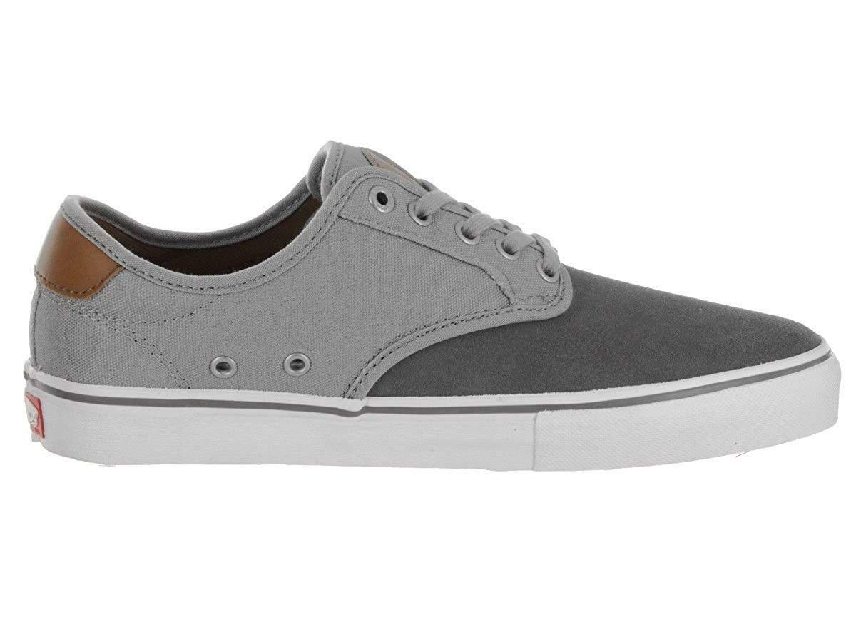 Vans Chima Ferguson Pro TWO TONE PEWTER Canvas GREY  Uomo 7 Canvas PEWTER SUEDE Lace Up Schuhe 9fc976