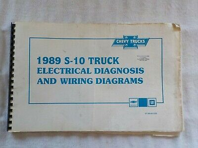 1989 chevy pickup wiring diagram 1989 chevrolet s 10 truck electrical diagnosis   wiring diagrams  1989 chevrolet s 10 truck electrical