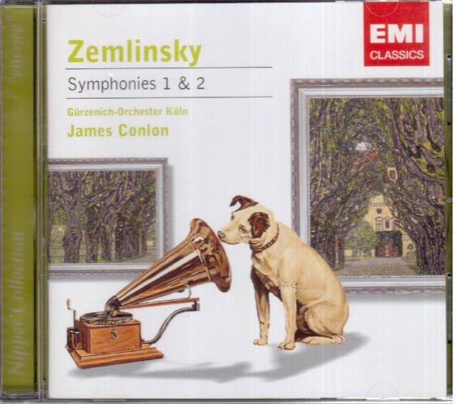 Zemlinsky:Sinfonie N.1 & 2 / James Conlon, Gurzenich-Orchester Koln - CD