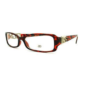 c62bfbf6af3 Image is loading DG-Eyewear-Clear-Lens-Glasses-Womens-Rectangular-Eyeglasses -