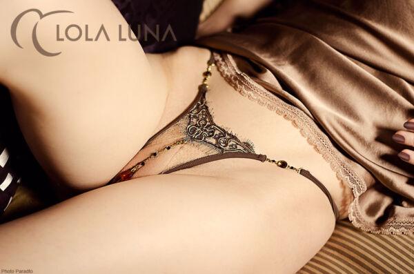 LOLA LUNA String NATACHA open S M L XL