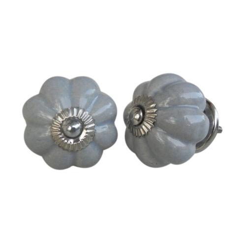 Jaune et Gris Vintage Ceramic Cabinet Door KnobsChine armoire Tiroir Tire