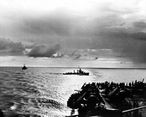 AmÉricain Destroyer En Nord Afrique Seconde Guerre Mondiale 1942 11x14 Argent Dymegyea-07233350-557740813