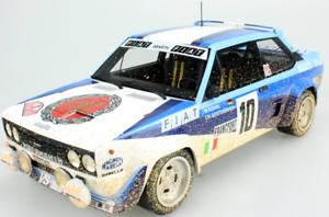 FIAT 131 ABARTH WINNER  MONTECARLO 1980 ROHRL - GEISTDORFER 1 18 TOP043CD