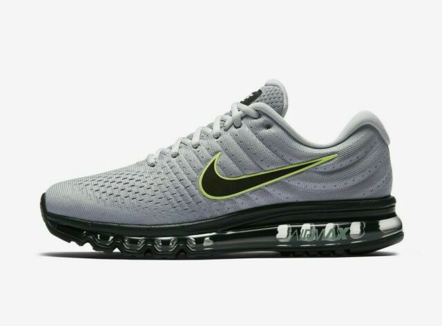 nike air max 2017 multi color running shoes (size 9)