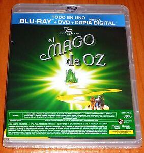 EL-MAGO-DE-OZ-THE-WIZARD-OF-OZ-BLURAY-DVD-Zona-2-B-Preci