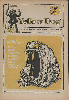 Vol I Issue 2 1st Print Yellow Dog Fine Tabloid Print Mint