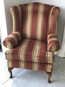 Wing Back Armchair MultiYork | eBay