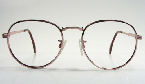 Rose Gold USA Vintage Metal Wire Rim P3 Eyeglass Frame Medium 80/'s NOS Retro 50
