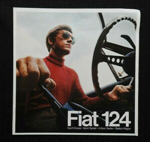 GENUINE-1968-FIAT-124-SPORT-COUPE-SPIDER-SEDAN-WAGON-PRESTIGE-SALES-BROCHURE