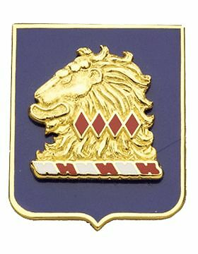 No Motto New Jersey State HQ ARNG Unit Crest