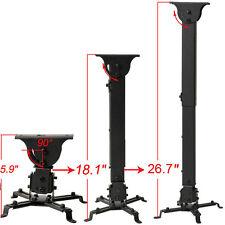 Projector Ceiling Mount LCD DLP Tilt Swing Adjustable Bracket 44lb Universal M88