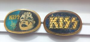 Vintage Kiss Belt Buckles By Pacifica
