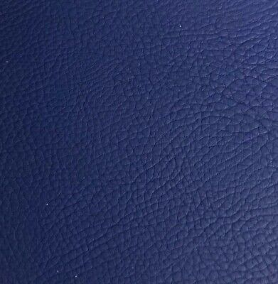 AUTO UPHOLSTERY HAVANA NAVY BLUE VINYL LEATHER FABRIC 54 ...