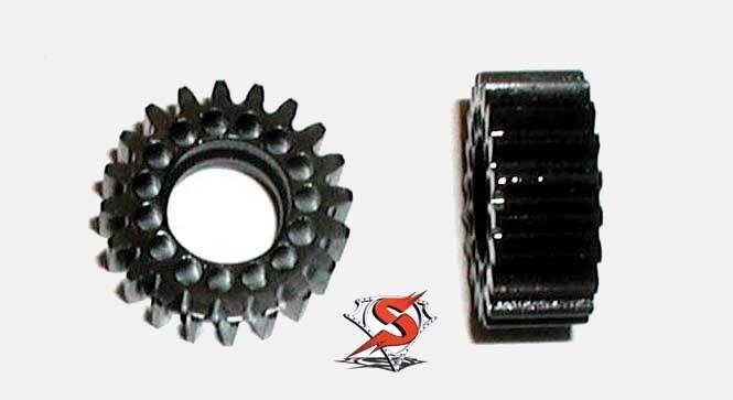 SuperMaxx E-Maxx Hardened Steel Idler Kit (Pair of Gears),  Traxxas, E-Maxx, UE  consegna e reso gratuiti