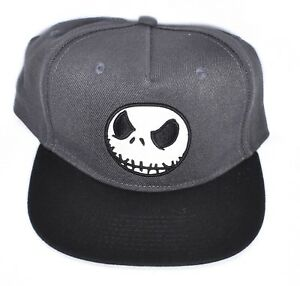 4745950bf Details about NIGHTMARE BEFORE CHRISTMAS Jack Skellington Snapback Hat/Cap  Adjustable >NEW<