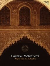 LOREENA MCKENNITT 'NIGHTS FROM THE ALHAMBRA' DVD+ 2 CD NEU