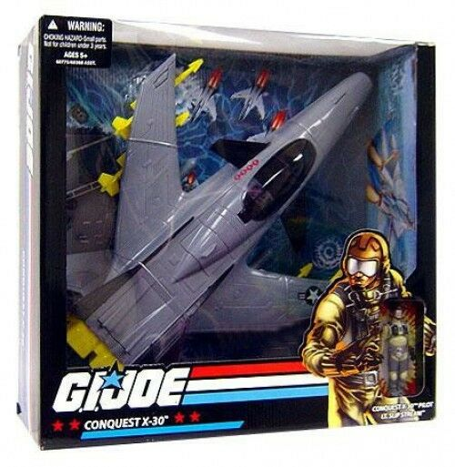 GI Joe Conquest X-30 Exclusive Action Figure Vehicle