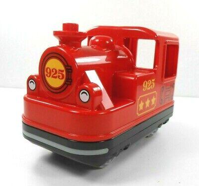 Lego Duplo Item Electric Train Engine Base Pull Go 4x8 W Train Wheels Red Ebay