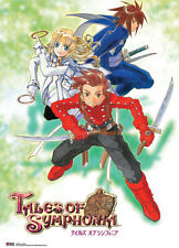 Tales of Symphonia Group Wall Scroll Poster Anime Manga NEW