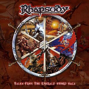 RHAPSODY-Tales-From-The-Emerald-Sword-Saga-Ltd-Digipak-CD-2004-Free-Sticker