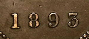1893-CANADA-LARGE-CENT-LARGE-1-CENT-PENNY-Fantastic-example-Dp-9-very-rare