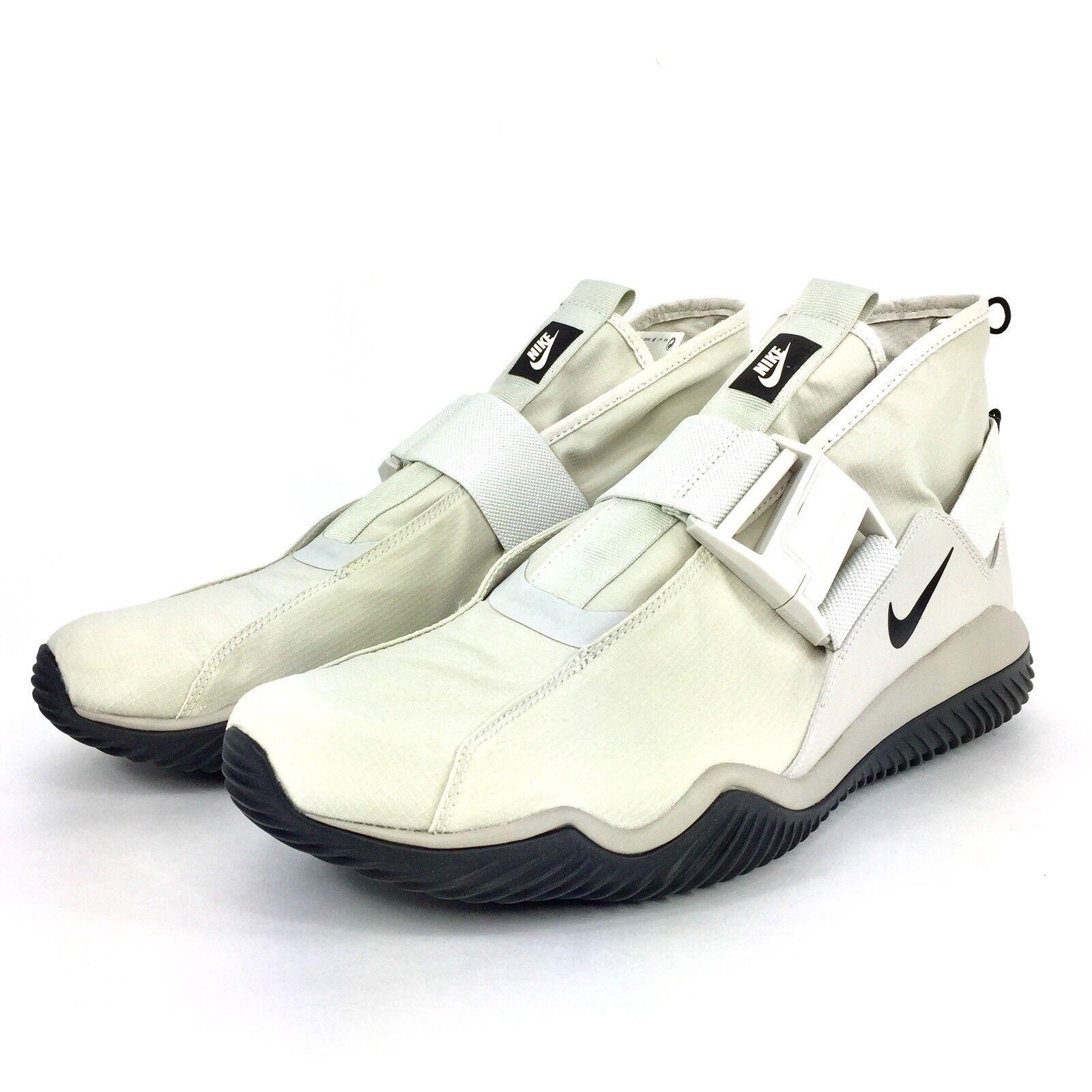 Nike Komyuter Premium Light Bone Black Cobblestone 921664 002 Mens Sz