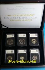 2015 DateStamp™ Brilliantly Uncirculated Limited Edition -UK Specimen Coin Set