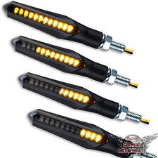 4x LED BLINKER LAUFEFFEKT LAUFBLINKER LAUFLICHT 2 PAAR SEQUENTIELL VORN HINTEN