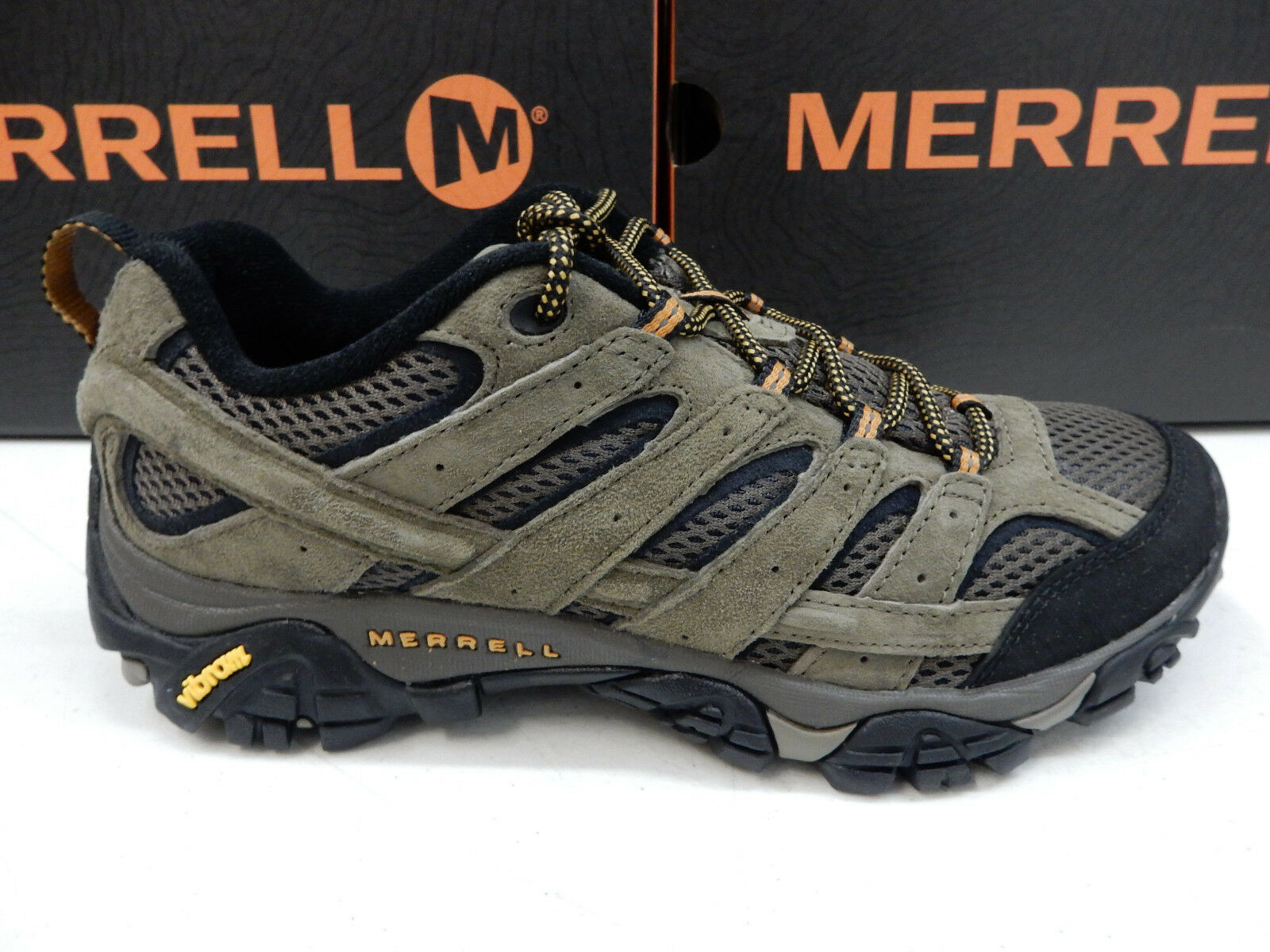 MERRELL Uomo HIKING MOAB 2 VENTILATOR WALNUT WALNUT VENTILATOR SIZE 13 WIDE a301e5