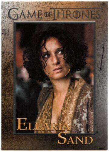 C2426 Ellaria Sand #33 Game Of Thrones Season 7 Rittenhouse 2018 Trade Card