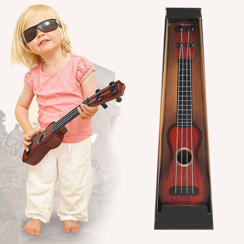 Baby Children Simulation Musical Ukulele Guitar Instrument Toy Color Random
