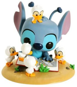 Deluxe-Pop-Vinyl-Lilo-amp-Stitch-Stitch-with-Book-amp-Ducks-US-Exclusive-Pop