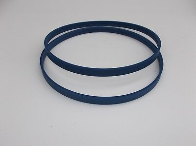 2 BLUE MAX URETHANE BAND SAW TIRES AND DRIVE BELT FOR SKIL 3386 BAND SAW SKILL
