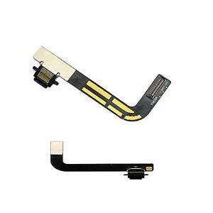 Ipad 4 Ipad4 Conector De Carga Sync Cargador Puerto Dock Flex cinta Cable Negro