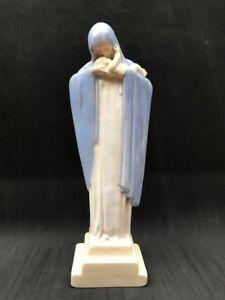 Vierge-a-l-039-enfant-Lucienne-HEUVELMANS-Madonna-con-Bambino-ceramique-emaille