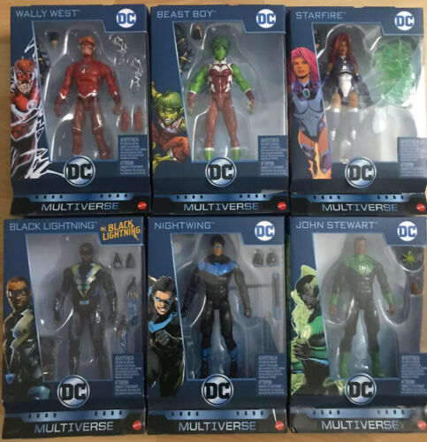 John Stewart nouvelle et scellée DC Multi-Univers Wave 11 CNC Ninja Batman Wally West