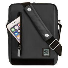 Grey Tablet Shoulder Bag Case for iPad Pro 9.7 / HUAWEI MediaPad T2 Pro 10.1