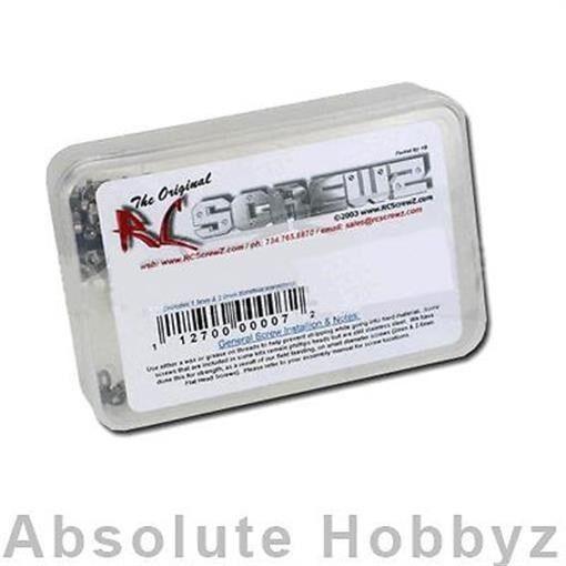 Screwz hpi rc - 1   5 baja rtr edelstahl - kit - rczhpi028