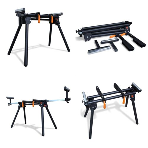 750 lb Capacity Universal Miter Saw Stand Powdercoated Universal Foldable Tool