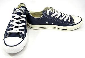 103d4c8d18ca Converse Shoes Chuck Taylor Ox All Star Navy Blue Sneakers Men 5.5 ...
